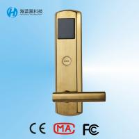 Wholesale 285*74mm  304 all stainless steel high security hotel swipe card lock systems from china suppliers
