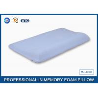 Wholesale Contoured Memory Foam Baby Pillow With Cotton Cover , Curved Memory Foam Pillow from china suppliers