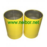 Wholesale personalized round metal tin pen holder with raised rings from china suppliers