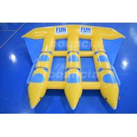 Wholesale 0.9mm Durable PVC Tarpaulin Inflatable Flying Fish Boat With CE EN15649 from china suppliers