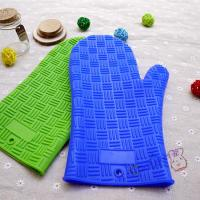 Wholesale Hot Selling New Kitchen Non Stick Silicone Grill Gloves With Stripe Point For Bakery from china suppliers