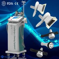 Wholesale 5 handles fat freezing Cryolipolysis Vacuum cavitation RF machine body slimming from china suppliers