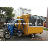 Wholesale Gasoline Motorcycle Food Cart , Mobile Snack Cart For Fast Food from china suppliers