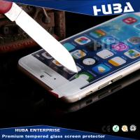 Wholesale Electroplate Iphone 6 Tempered Glass Screen Protectors 0.33mm Thickness from china suppliers