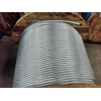 Buy cheap High Tensile Galvanized Steel Strand 19x3.8mm For Steel Tower , Guy Wire from wholesalers