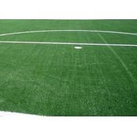 China High Elasticity Realistic Synthetic Turf For School Track / Artificial Grass Rug on sale