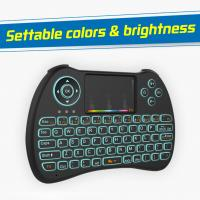 Wholesale Airmouse Rii Portable Mini Wireless Keyboard78 Channels 15M Control Distance from china suppliers