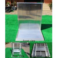 Quality Widely Use 30kg Weight Foldable Crowd Control Barrier For Crowded Activities for sale