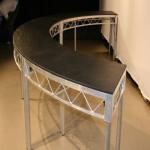 Aluminum smart Portable stage platform , Aluminum plywood platform stage deck