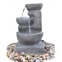 Wholesale Hand Cast Indoor / Outdoor Tiered Water Fountains In Faux Stone Bowl from china suppliers
