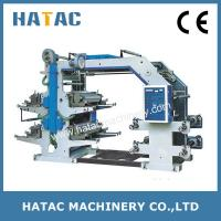Wholesale Adhesive Label Printing Machine,Flexo Wallpaper Printer Machinery from china suppliers