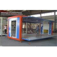 Wholesale Colorful Portable Coffee Shop Container House with Steel Frame Sandwich Panel from china suppliers