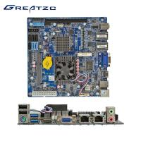 Wholesale ZC-S1037ADL NAS Server Industrial PC Motherboard , RAID Mini ITX Motherboard Dual LAN from china suppliers