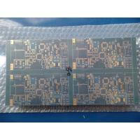 Quality 10 Layer FR -4 CTI 175V-249V 1oz Single Sided PCB Matt Blue Mask Immersion Gold for sale