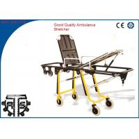 China Folding Patient Transport Rescue Stretcher Trolley For First Aid on sale