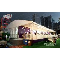 500 Guests Aluminum Arcum Shape Wedding Party Tent  for Events With ABS Walls