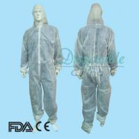 China Disposable Type 5 Antistatic Flame Retardant Coverall on sale