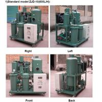 Wholesale ZJD Vacuum Lubricating Oil Purification and Filtration Equipment from china suppliers