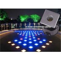 Wholesale 3W Multi - Color  Led Underground Light With 3 Years Warranty , Energy Saving from china suppliers