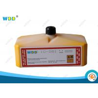 Wholesale Domino CIJ Ink Yellow Pigment 0.825L Non Halogen SGS Certification from china suppliers