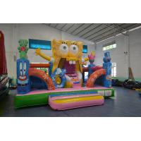Wholesale Funny SpongeBob Square Pants Bouncy jumping Castles Waterproof For Kids from china suppliers