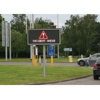 Quality Full Matrix LED Variable Message Signs Energy Saving For Bridge Construction for sale