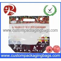 Wholesale Bottom Gusset Fruit Packaging Bags With Holes For Keep Lemon Fresh from china suppliers