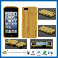 Wholesale Hard Bamboo Protective iPhone 5S Cases Cover for Mobile Phone Protection from china suppliers
