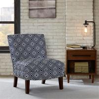 Wholesale Bronc Floral Accent Chair SunroomWith Individually Placed Silver Nail Heads from china suppliers