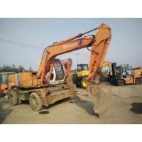 Wholesale ex100wd-1 used hitachi excavator wheel excavator for sale EX100WD-2 from china suppliers