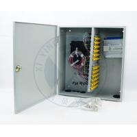 Quality Intdoor wall mounted 72 ports fiber optic terminal distribution box for sale
