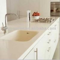 Wholesale Fashion White Artificial Marble Table Top ,Worktop ,Countertop from china suppliers