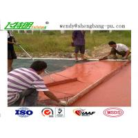 Quality Polyurethane Running Athletic Track Synthetic Running Track Flooring Outdoor Sport for sale