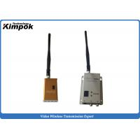 Wholesale FPV AV Wireless Transmitter 5-10km Wireless Video Transmitter and Receiver for Security Police from china suppliers