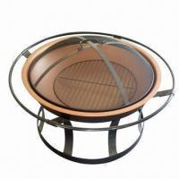 Wholesale Round Fire Pit, Sized 76.5 x 67cm from china suppliers