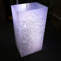 Wholesale Custom Romatic Milky White Acrylic Lamp Shade for LED Lighting from china suppliers
