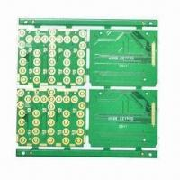 Buy cheap Four-layered PCB Board for Telecommunications, Immersion Gold Surface Treatment from wholesalers