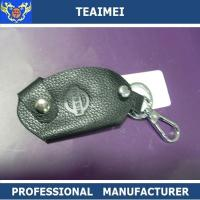 Wholesale Nissan Automotive Customizable Handmade Leather Key Holder Small Keychain Wallet from china suppliers