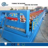 550Mpa Strength Steel Roof Panel Roll Forming Machine For Colors Metal