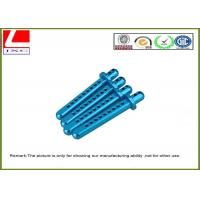 Wholesale Customized blue Anodization Aluminium CNC Turning Partsshaft for general industries from china suppliers