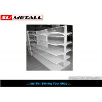 Wholesale Metal Supermarket Display Shelf With Clear PVC Backing Panel For Pharmacy Store from china suppliers