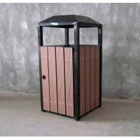 Wholesale WPC outdoor waste Bins RMD-D8 from china suppliers