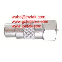Wholesale Coaxial Adapter Coaxial Adaptor RCA Female To F Male Connector CCTV Radio / RCAF.FM.02 from china suppliers
