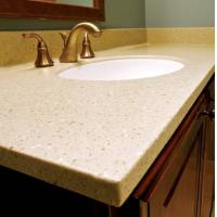 Wholesale jiangsu yixing top quality quartz vanity top from china suppliers