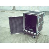 Wholesale 16u Rack Flight Case, Aluminum With Good Wood, Black Color For Audio And Light from china suppliers
