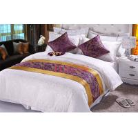 Wholesale Lavender Jacquard Hotel Bed Runners Elegant 100% Polyester ISO9001 from china suppliers