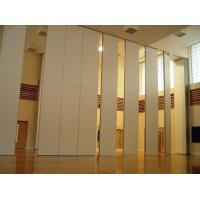 Wholesale Function Hall Decorative Acoustic Room Dividers / Sliding Operable Wall Panel from china suppliers