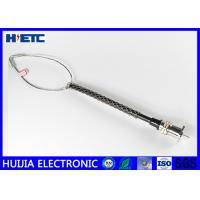 China Electronic Stainless Steel Wire Rope Mesh , Telecom Antenna 1/2 Feeder Cable Support Wire on sale