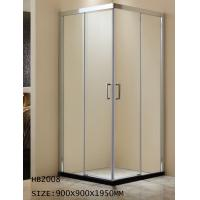 Wholesale Aluminum frame shower room ,bathroom,shower enclosure, shower door HB2008 900X900X1950MM from china suppliers