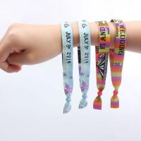 Wholesale 1.0CM-1.5CM Size Custom Wrist Band With Imitation Nylon Material  from china suppliers